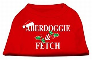 T-shirt Aberdoggie & fetch Noel